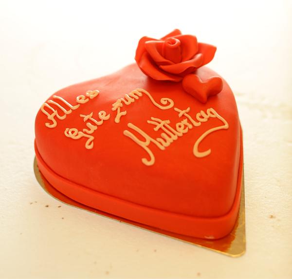 Herz Torte Rot