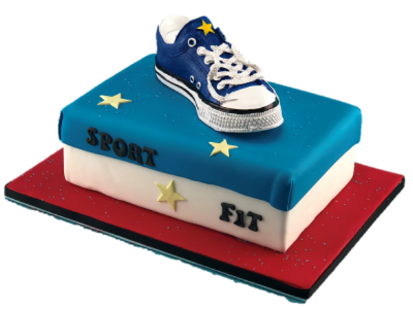 Bild von CK-453 Sneakers-Spardose blau