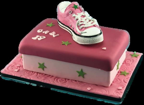 Bild von CK-452 Sneakers-Spardose rosa